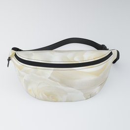 Ivory Roses Fanny Pack