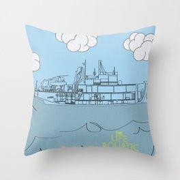 Zissou Boat Throw Pillow