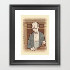 Monsieur Ivan or Bill Murray on The Grand Budapest Hotel from Wes Anderson Framed Art Print