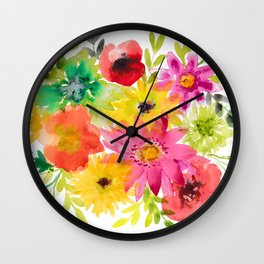 Spring Morning Wall Clock