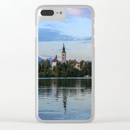 Lovely Lake Bled Clear iPhone Case