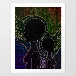 Neon Trip 2 Art Print