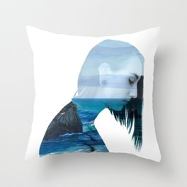 Serenity Two Throw Pillow