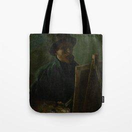 Self-Portrait as a Painter Tote Bag