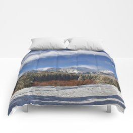 Rocky Mountain Park  by Lena Owens Comforters