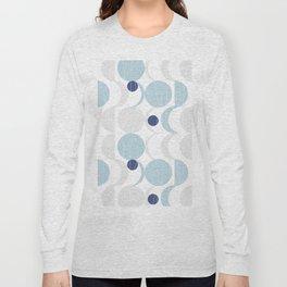 Blue Moon #society6 #decor Long Sleeve T-shirt