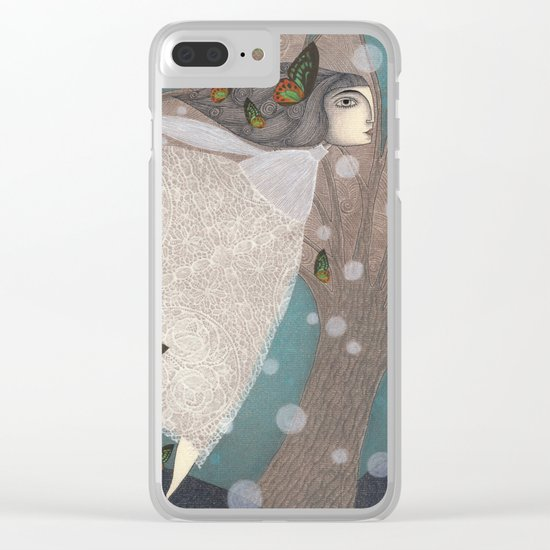 Finding Winter Clear iPhone Case