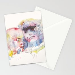 looking for you in my own color wave Stationery Cards