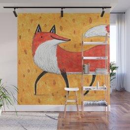 Sassy Little Fox Wall Mural