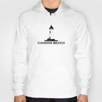 cape cod Hoodies featuring Cahoon Beach. Cape Cod by America Roadside