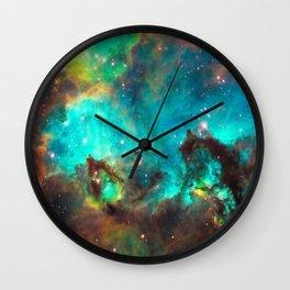 Galaxy / Seahorse / Large Magellanic Cloud / Tarantula Nebula / Space / Universe / Wall Clock
