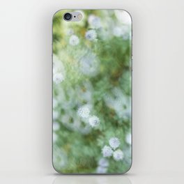 Flowers & Swirl iPhone Skin