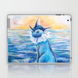 Vaporeon By The Sea At Dawn Laptop & iPad Skin
