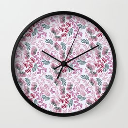 Emmy Lou Print Wall Clock