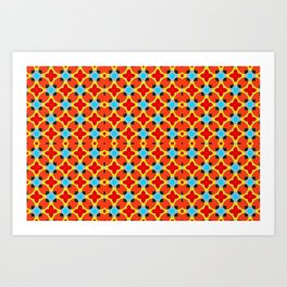 Lady Bug Bugging Out Art Print
