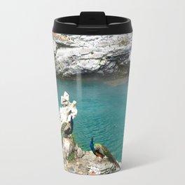 The Peacocks Travel Mug