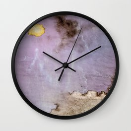 Fauxquarelle 1 Wall Clock