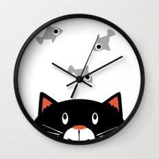 Dreaming of Fish Wall Clock
