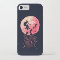 kraken iPhone & iPod Cases featuring Kraken by Freeminds