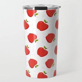 Delious Apple Pattern Travel Mug