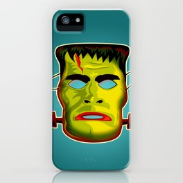 Frankenstein Monster Mask iPhone Case