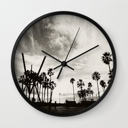 Venice B&W Wall Clock