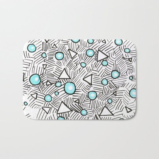 Shiny Bubbles Bath Mat