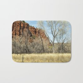 Red Rock State Park Meadow Bath Mat