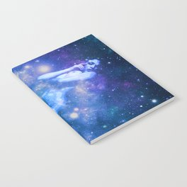Blue Galaxy Woman : Nude Art Notebook