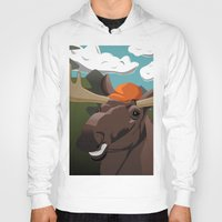 hunting Hoodies featuring Hunting Season by Pajarito