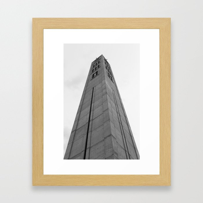 High Tower Framed Art Print