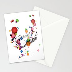 Rolly pop shoes Stationery Cards