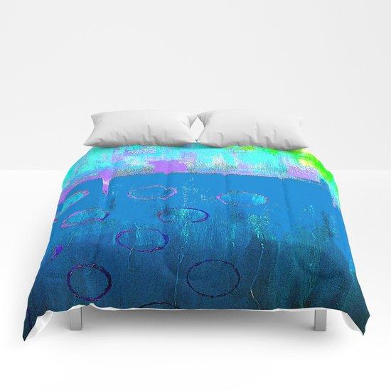 Summer Blues Comforters