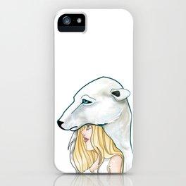 Winter, the Polar Bear God iPhone Case