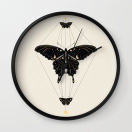 Butterfly Universe Wall Clock