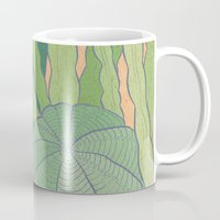 cacti Mugs featuring Cacti by Julia Walters Illustration