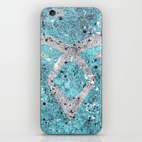 mortal instruments iPhone & iPod Skins featuring Mortal Instruments Angelic Rune by Herk Designs