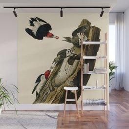 Red Headed Woodpecker Wall Mural