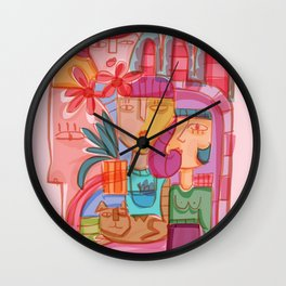 Lives intertwined Wall Clock
