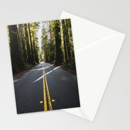 Redwoods Road Trip - Nature Photography Stationery Cards