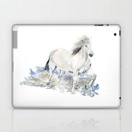 Wild White Horse Laptop & iPad Skin