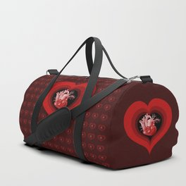 Delicious Valentine Duffle Bag