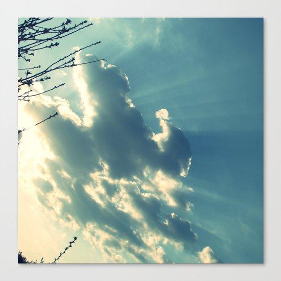 Clouds no.3 Canvas Print