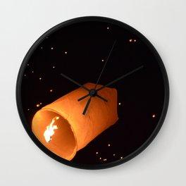 Lantern festival gusst Wall Clock