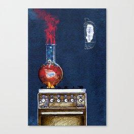 Love keep hot Canvas Print