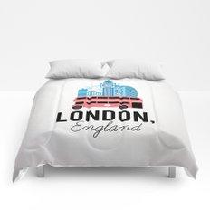 London, England Comforters