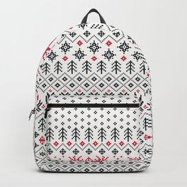 HOLIDAY SWEATER PATTERN Backpack