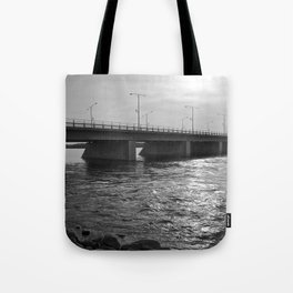 Water Under the Bridge - The Peace Collection Tote Bag