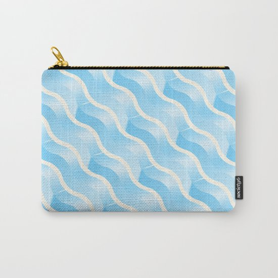 Geometric Vibes: Wisdom Carry-All Pouch