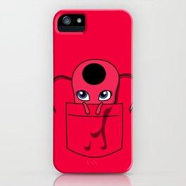 Tikki Pocket Tee iPhone Case